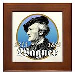 Richard Wagner Framed Tile