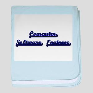 Computer Software Engineer Classic Jo baby blanket