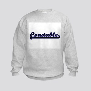 Constable Classic Job Design Kids Sweatshirt