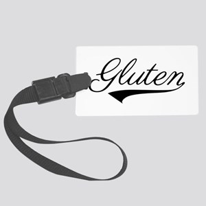 Gluten With Swash Large Luggage Tag