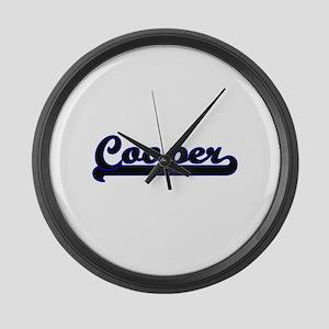 Cooper Classic Job Design Large Wall Clock
