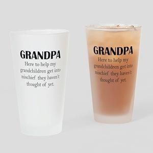 Grandpa Drinking Glass