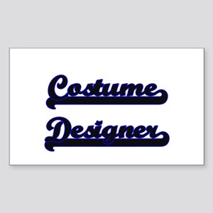 Costume Designer Classic Job Design Sticker