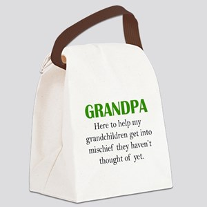 Grandpa Canvas Lunch Bag