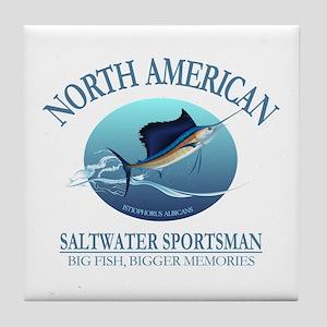 NASM sailfish Tile Coaster