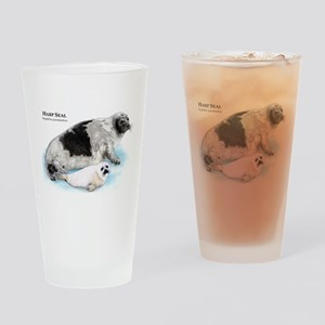 Harp Seal Drinking Glass