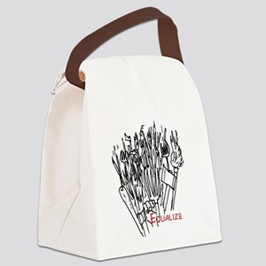 Equalize Canvas Lunch Bag
