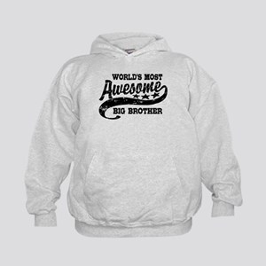 World's Most Awesome Big Brother Kids Hoodie
