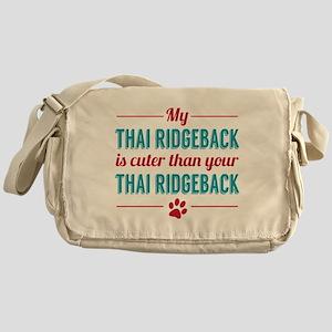 My Thai Ridgeback Messenger Bag