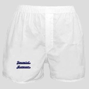 Financial Manager Classic Job Design Boxer Shorts