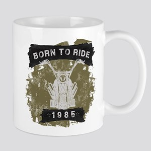 Birthday 1985 Born To Ride Mug