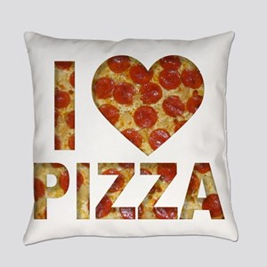I LOVE PIZZA Everyday Pillow