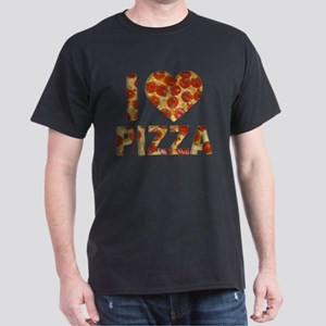 I LOVE PIZZA Dark T-Shirt