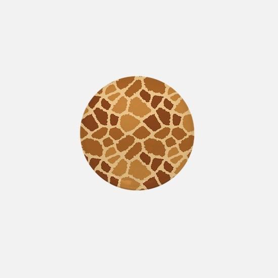 Giraffe Fur Mini Button