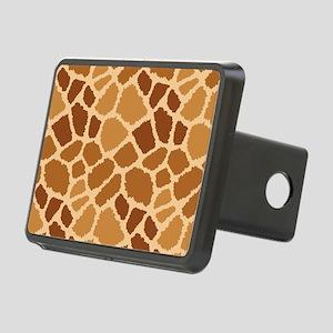 Giraffe Fur Rectangular Hitch Cover