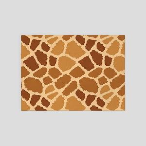 Giraffe Fur 5'x7'Area Rug