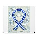 ALS Awareness Ribbon Angel Mousepad