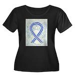 ALS Awareness Ribbon Angel Plus Size T-Shirt