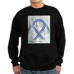 ALS Awareness Ribbon Angel Sweatshirt