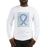 ALS Awareness Ribbon Angel Long Sleeve T-Shirt