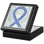 ALS Awareness Ribbon Angel Keepsake Box