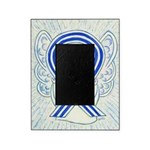 ALS Awareness Ribbon Angel Picture Frame