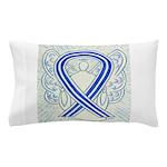 ALS Awareness Ribbon Angel Pillow Case