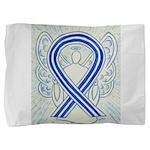 ALS Awareness Ribbon Angel Pillow Sham