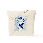 ALS Awareness Ribbon Angel Tote Bag