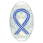 ALS Awareness Ribbon Angel Sticker