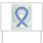 ALS Awareness Ribbon Angel Yard Sign