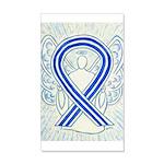 ALS Awareness Ribbon Angel Wall Decal