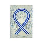 Als Awareness Ribbon Angel Rectangle Art Magnets