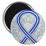 ALS Awareness Ribbon Angel Magnets
