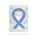 ALS Awareness Ribbon Angel Rectangle Car Magnet