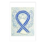 ALS Awareness Ribbon Angel Postcards (Package of 8