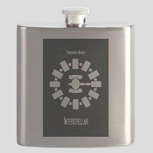 Minimalist Interstellar Art Flask
