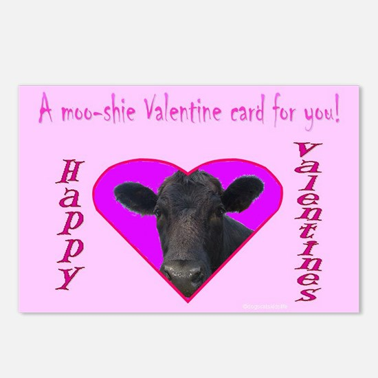 A Moo-shie Postcard (Package of 8)