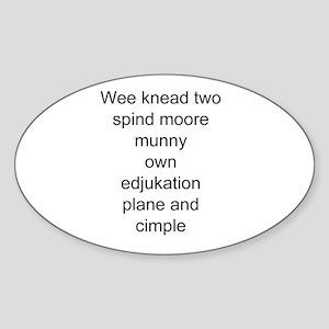 funny education Sticker