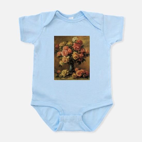 Roses in a Vase by Renoir Body Suit