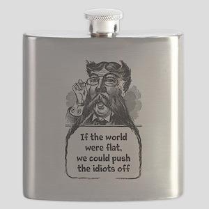 Flat World Flask