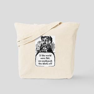 Flat World Tote Bag