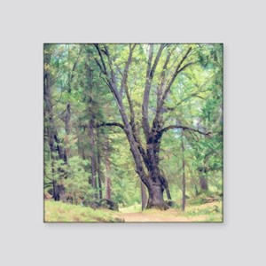 """The Welcoming Tree Square Sticker 3"""" x 3"""""""