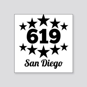 619 San Diego Sticker