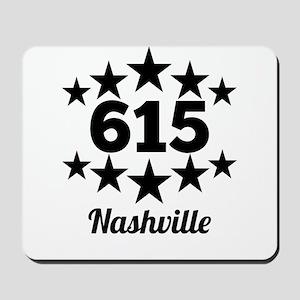 615 Nashville Mousepad
