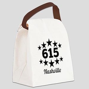615 Nashville Canvas Lunch Bag