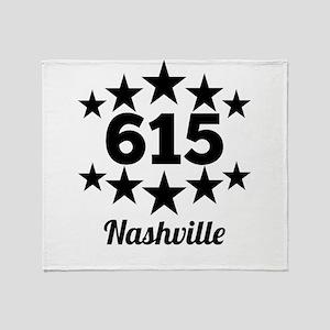615 Nashville Throw Blanket
