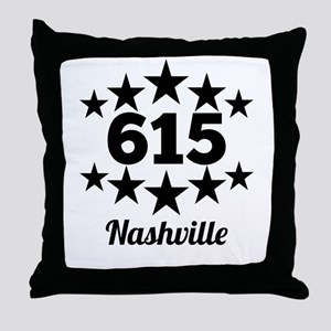 615 Nashville Throw Pillow