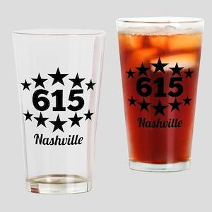 615 Nashville Drinking Glass