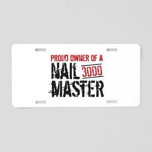 Nailmaster Metal Detecting Aluminum License Plate